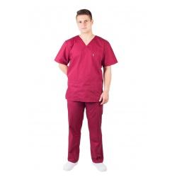 Spodnie chirurgiczne proste